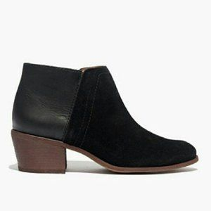 Madewell- Cait Ankle Booties